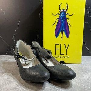 Fly London Nuevo Pump Black Size 9.5m